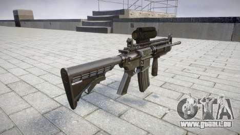Automatique M4 carbine Messieurs Tactique cible pour GTA 4 secondes d'écran