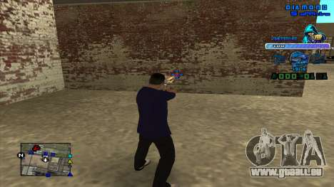 C-HUD Ghetto Life pour GTA San Andreas troisième écran