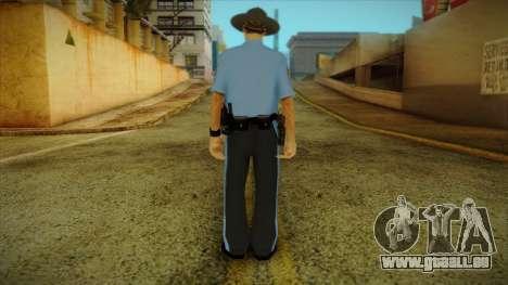 Missouri Highway Patrol Skin 2 pour GTA San Andreas deuxième écran