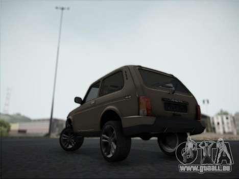 Lada Urdan pour GTA San Andreas vue arrière