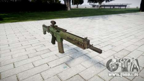 Fusil automatique de cible Ak5C pour GTA 4