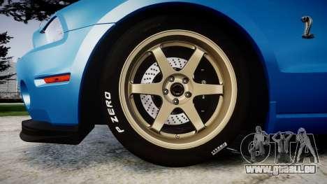 Ford Mustang Shelby GT500 2013 für GTA 4 Rückansicht