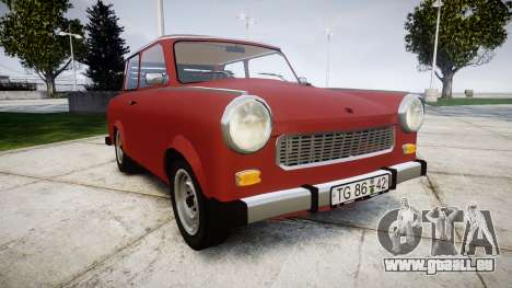 Trabant 601 deluxe 1981 pour GTA 4