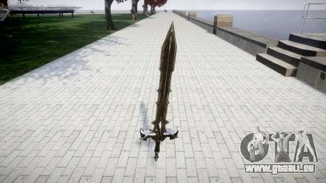 L'épée-le chevalier Noir- pour GTA 4