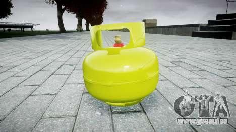 Grenade-bouteille de Gaz- pour GTA 4 secondes d'écran
