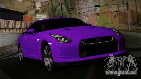 Nissan GTR-R35 für GTA San Andreas