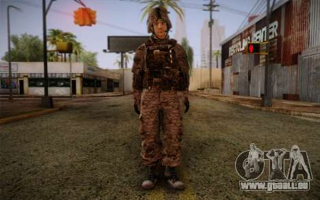 Chaffin from Battlefield 3 für GTA San Andreas