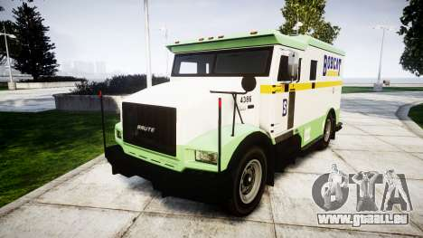 GTA V Brute Securicar pour GTA 4