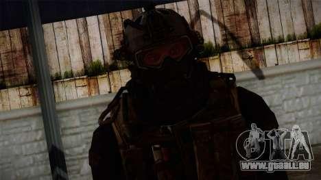 Modern Warfare 2 Skin 2 pour GTA San Andreas troisième écran