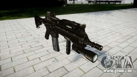 Le HK416 fusil Tactique pour GTA 4