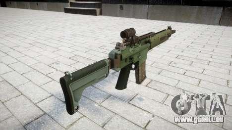 Fusil automatique de cible Ak5C pour GTA 4 secondes d'écran