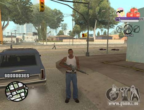 C-HUD Pony and Pomidors für GTA San Andreas dritten Screenshot