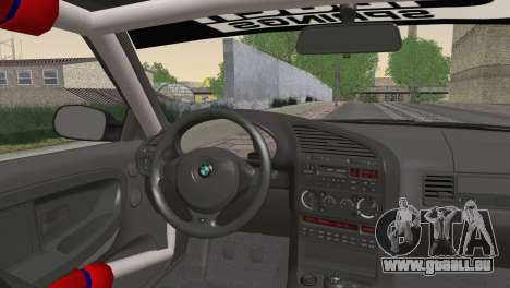BMW M3 E36 Bridgestone v3 für GTA San Andreas zurück linke Ansicht