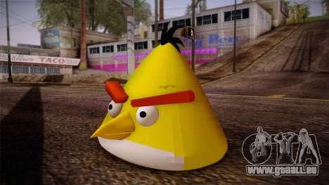 Yellow Bird from Angry Birds für GTA San Andreas