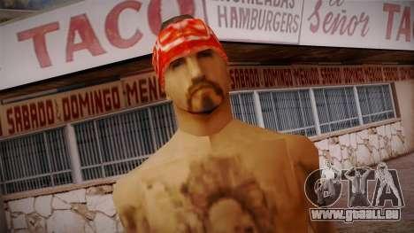 Fresno Buldogs 14 Skin 1 für GTA San Andreas dritten Screenshot