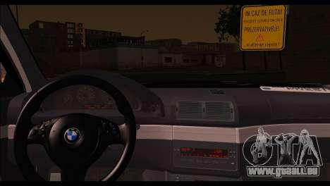 BMW 520d 2000 pour GTA San Andreas sur la vue arrière gauche
