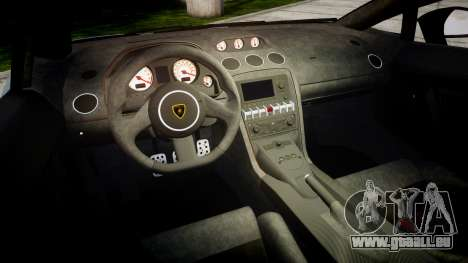 Lamborghini Gallardo LP570-4 Superleggera 2011 für GTA 4 Innenansicht
