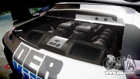RUF RGT-8 GT3 [RIV] Der Kuhler für GTA 4 Seitenansicht