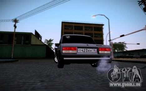 VAZ 2107 pour GTA San Andreas moteur