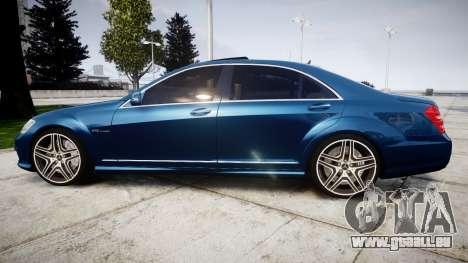 Mercedes-Benz S65 W221 AMG v2.0 rims2 für GTA 4 linke Ansicht