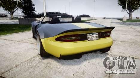 Bravado Banshee ESP pour GTA 4 Vue arrière de la gauche