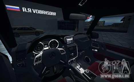 Brabus 700 für GTA San Andreas rechten Ansicht