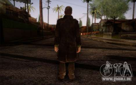 Aiden Pearce from Watch Dogs v8 für GTA San Andreas zweiten Screenshot