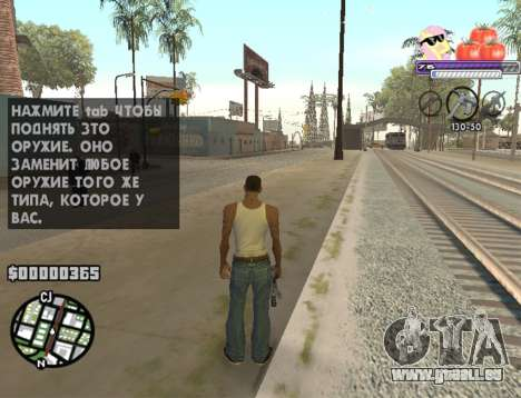 C-HUD Pony and Pomidors für GTA San Andreas zweiten Screenshot