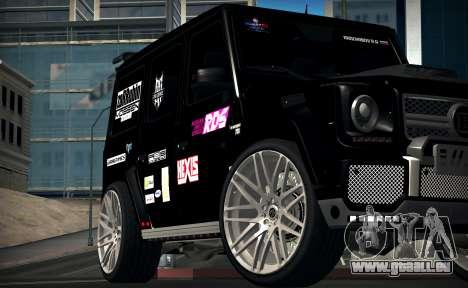 Brabus 700 pour GTA San Andreas laissé vue