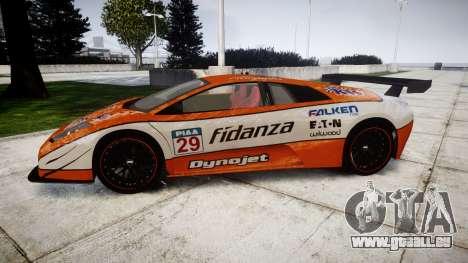 Lamborghini Murcielago LP640 R-GT pour GTA 4 est une gauche