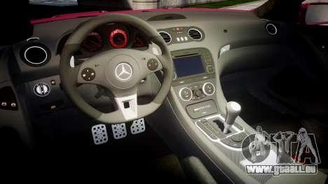 Mersedes-Benz SL65 AMG 2009 Sharpie pour GTA 4 est une vue de l'intérieur