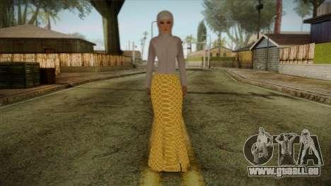 Kebaya Girl Skin v2 pour GTA San Andreas