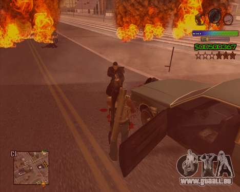 C-HUD Simple für GTA San Andreas dritten Screenshot