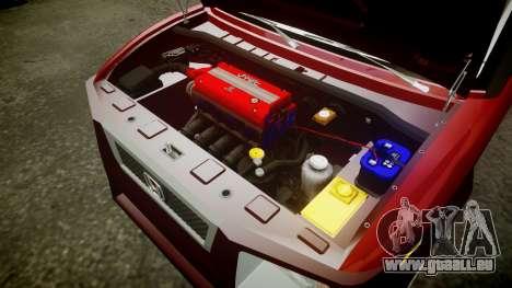 Honda Element 2005 pour GTA 4 est une vue de l'intérieur