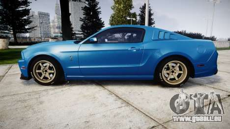 Ford Mustang Shelby GT500 2013 pour GTA 4 est une gauche