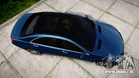 Mercedes-Benz S65 W221 AMG v2.0 rims2 pour GTA 4 est un droit