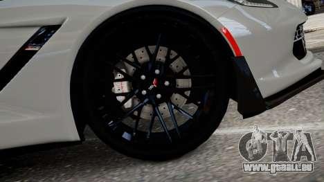 Chevrolet Corvette Z06 2015 für GTA 4 hinten links Ansicht