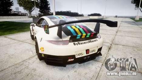 RUF RGT-8 GT3 [RIV] Project CARS pour GTA 4 Vue arrière de la gauche