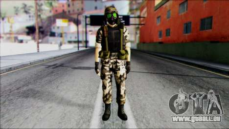 Hecu Soldier 1 from Half-Life 2 pour GTA San Andreas