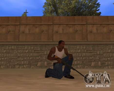Jaguar Weapon pack pour GTA San Andreas troisième écran
