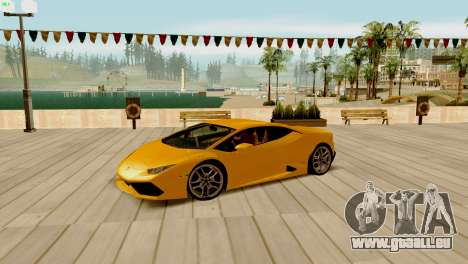 ENB pour les faibles et moyennes PC SA:MP pour GTA San Andreas onzième écran
