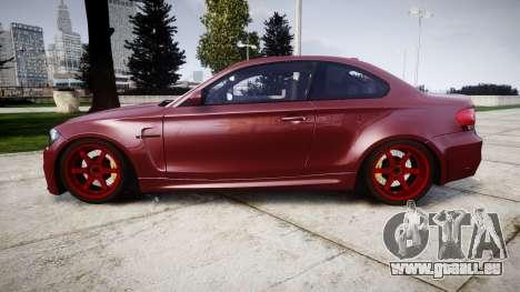 BMW 1M 2011 pour GTA 4 est une gauche