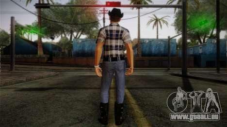 Gedimas Edward Skin HD pour GTA San Andreas deuxième écran