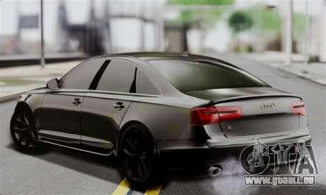 Audi A6 (C7) für GTA San Andreas linke Ansicht