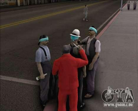 TF2 Spy Butterfly Knife pour GTA San Andreas quatrième écran