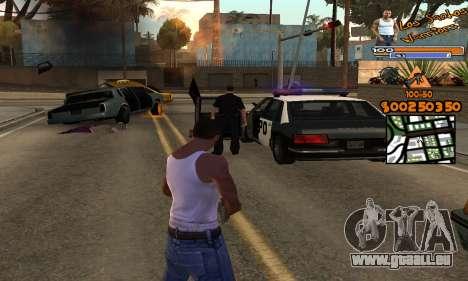 C-HUD by Fernando Delgado pour GTA San Andreas deuxième écran