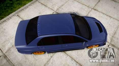 Mitsubishi Lancer Evolution IX für GTA 4 rechte Ansicht
