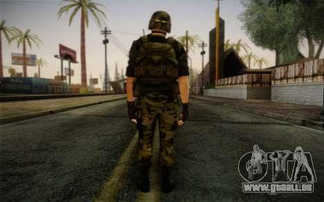 Hecu Soldier 3 from Half-Life 2 für GTA San Andreas zweiten Screenshot