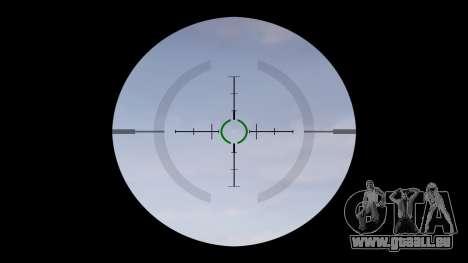 Automatique M4 carbine Messieurs Tactique cible pour GTA 4 troisième écran
