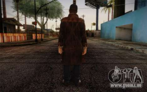 Aiden Pearce from Watch Dogs v6 für GTA San Andreas zweiten Screenshot